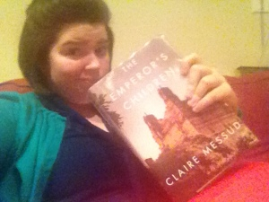 Book 1 and Me- Yes that is my 'ick' face