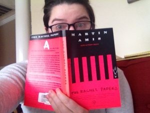 The Rachel Papers by Martin Amis and my 'did I really read this' look