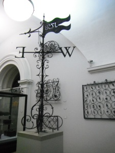 Wrought Iron Work at the Victoria and Albert Museum